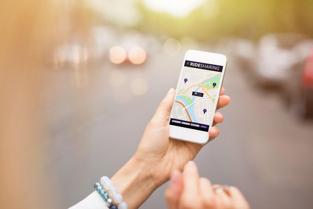 car ride sharing app