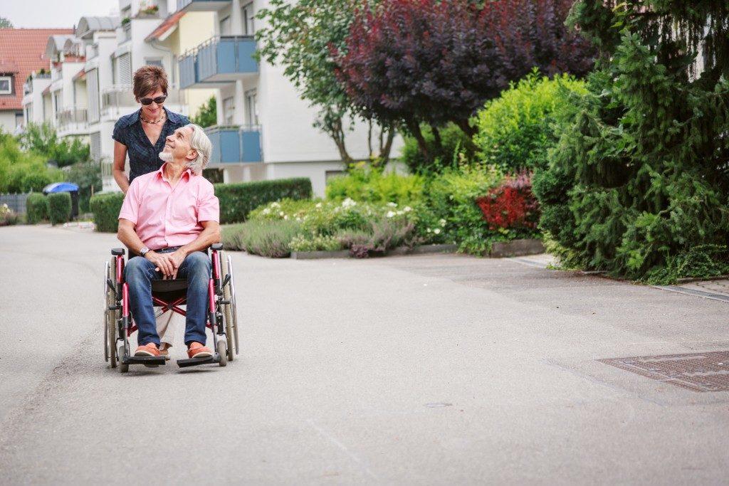 taking care of an elder