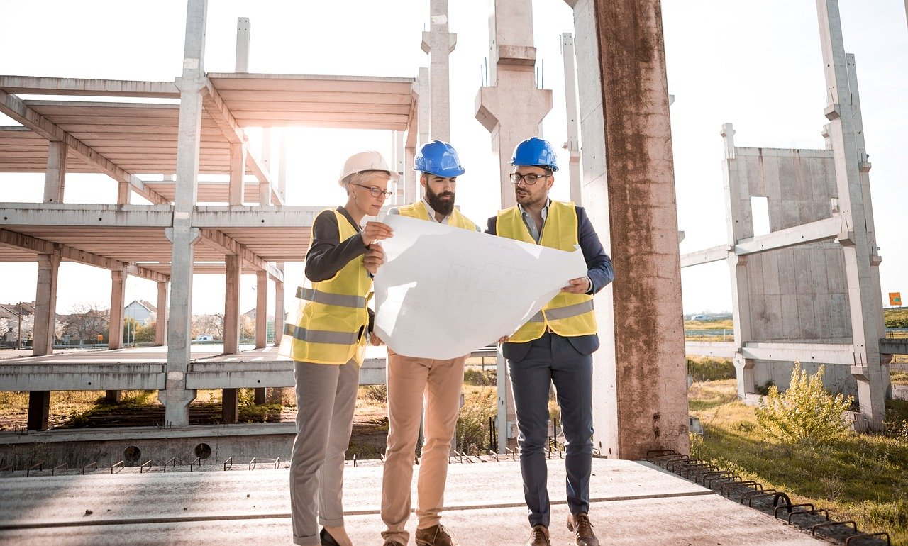 employees on site